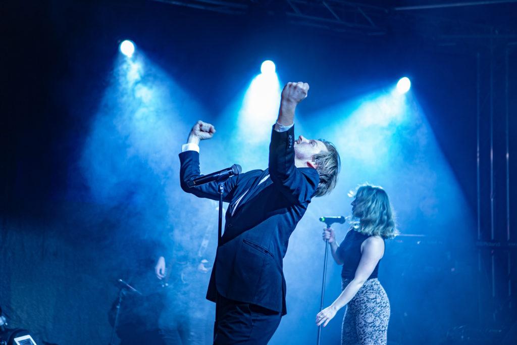 Showbøcks Partyband. Foto: Kjetil Tefke
